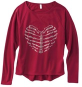 Xhilaration Junior's Graphic Sweatshirt - Assorted Colors