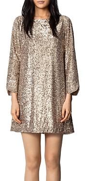 Zadig & Voltaire Sequined Mini Dress