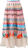 Temperley London Aura Embroidered Skirt