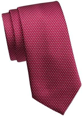 Giorgio Armani Micro Dot Silk Tie