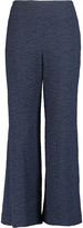 Roland Mouret Preston cotton-blend cloqué wide-leg pants