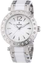 Women's Watch Festina F16643/3 Ceramic and Stainless Steel Band
