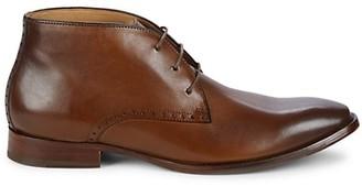 Johnston & Murphy Leather Chukka Boots
