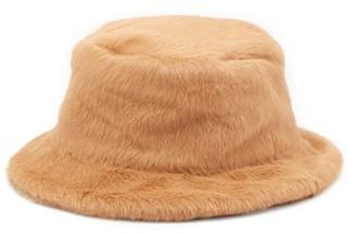 Ruslan Baginskiy Faux-fur Bucket Hat - Beige