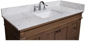 """49"""" Single Bathroom Vanity Top Renaissance Vanity"""