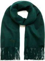 Mulberry Classic Cashmere Shawl Bottle Green Cashmere