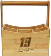 NASCAR Carl Edwards Bamboo Utensil Caddy