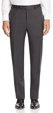 Canali Siena Classic Fit Wool Dress Pants