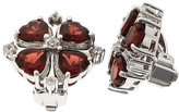 Clevereve Designer Series Sterling Silver Ear Clips No Post W/ 6 X 6Mm Heart