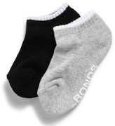 Bonds Boys Logo Low Cut Socks 2 Pack (00-4)