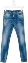 DSQUARED2 distressed skinny jeans - kids - Cotton/Spandex/Elastane - 16 yrs