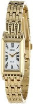 Seiko Women's Gold Tone Dress Solar Quartz White dial