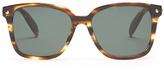 Alexander McQueen Square-frame acetate sunglasses