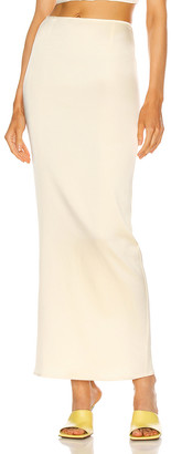 Georgia Alice Butter Skirt in Butter | FWRD