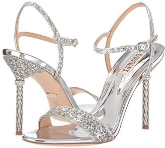 Badgley Mischka Olympia (Platino) High Heels