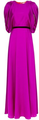 Roksanda draped belted gown