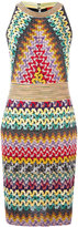 Missoni knitted fitted dress - women - Polyester/Cupro/Viscose - 42
