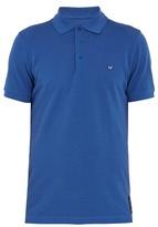 Fendi Logo-patch Cotton Polo Shirt