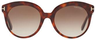 Tom Ford Monica 388146 Sunglasses Brown