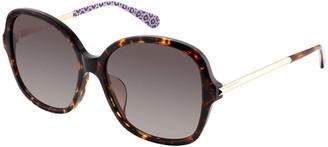 Kate Spade Kaiyags Square Gradient Sunglasses