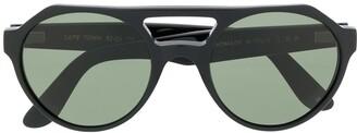 L.G.R CAPETOWN aviator-frame sunglasses