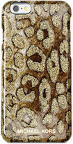 MICHAEL Michael Kors Glitter Cheetah-Print iPhone 6 Cover