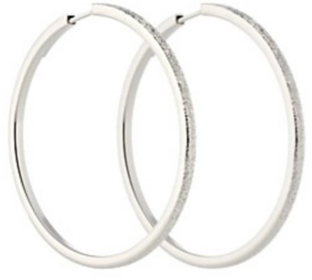 Pianegonda Small Diamond-Cut Hoop Earrings