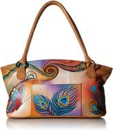 Anuschka Anna by Handpainted Leather Wide Tote