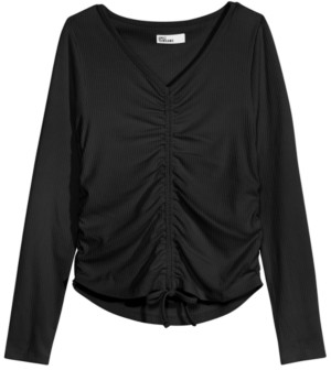 Epic Threads Big Girls Ruched Top, Created for Macy's