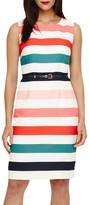 Phase Eight Faye Striped Dress, Multi