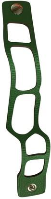 Hermã ̈S HermAs Green Leather Bracelets