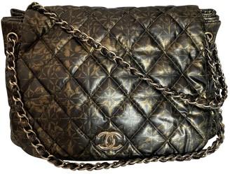 Chanel Metallic Leather Handbags