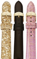 Michele Set of 3 Watch Straps, 16mm - 100% Exclusive