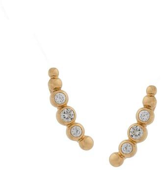 Astley Clarke sapphire Stilla Arc ear crawlers