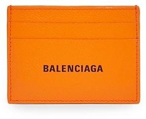 Balenciaga Logo Credit Card Holder
