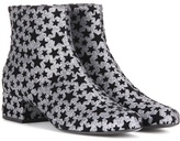 Saint Laurent Babies 40 Embellished Ankle Boots