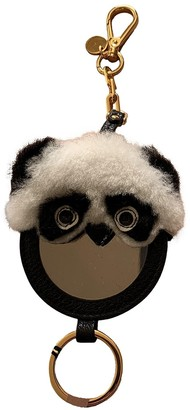 Miu Miu Black Leather Bag charms