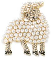 Carolee Lamb Brooch