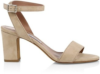 Tabitha Simmons Leticia Suede Ankle-Strap Sandals