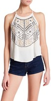Willow & Clay Embellished Pattern Tank