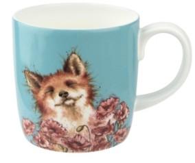 Royal Worcester Wrendale Poppy Field Fox Mug
