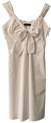 Prada White Cotton Dresses