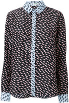 Kenzo printed shirt - women - Silk - 36
