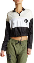 Reebok ME Striped Graphic Windbreaker