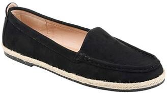 Journee Collection Comfort Foamtm Cinndy Espadrille Flat (Navy) Women's Shoes