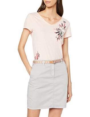 Esprit Women's 059ee1d018 Skirt, (Light Grey 040), 12 (Size: )