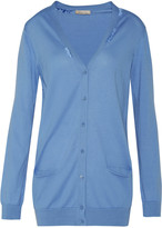 Nina Ricci Embroidered cotton cardigan