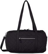 Vera Bradley Iconic Performance Twill Small Travel Duffel (Black) Duffel Bags