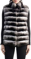 Gorski Chinchilla Fur Vest