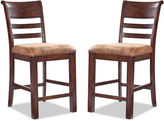 Asstd National Brand Bear River Set of 2 Bar Stools